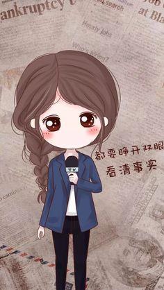รูปภาพ art girl, baby, and desing Love Cartoon Couple, Chibi Couple, Cute Couple Art, Anime Chibi, Kawaii Anime, Cute Couple Wallpaper, Cartoon Background, Chibi Girl, Cute Cartoon Wallpapers