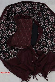 Teliya Rumal Double Ikkat handloom cotton suit duppata meter top meter bottom 2 meters WhatsApp no Price 3000 INR Cotton Suit, Cotton Saree, Cotton Dresses, Silk Sarees, Punjabi Dress, Anarkali Dress, Salwar Designs, Blouse Designs, Indian Attire