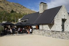 Sitting on the large patio of this acclaimed winery, surrounded by massive lavender patches and the vineyards in the background, it's easy to while away Restaurant Themes, New Zealand, Wines, Vineyard, Solar, Places To Visit, Australia, Patio, Landscape