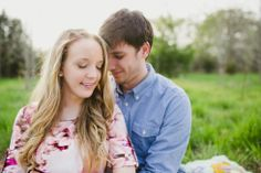 engagement photos in a field, rural engagement photos, rust engagement photos, Tennessee wedding photography, Kelly Ginn Photography,  romantic engagement photos, creative engagement photos, intimate engagement photos, candid engagement photos