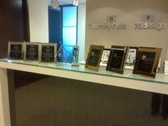 The morning after the awards show. It's great to see the Thornley Fallis team recognized for awesome work