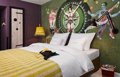 M-Room at 25hours Hotel Vienna M-Zimmer im 25hours Hotel Wien