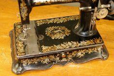 Fine Antique New National Sewing Machine C1890 | eBay
