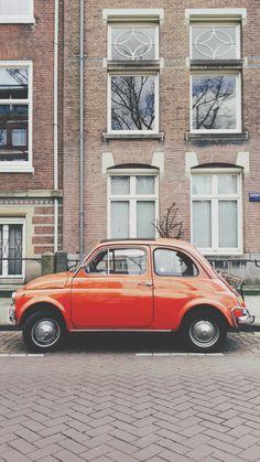 Orange is the new black, Fiat 500l, Amsterdam | mvdb | VSCO Grid