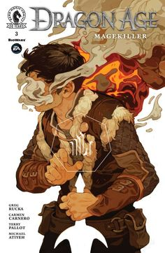 """Awesome Signage Design """"Dragon Age: Magekiller"""" by Sachin Teng* illustration digital painting smoke effect fx character design male warrior sword white Art And Illustration, Character Illustration, Art Illustrations, Dragon Age, Fantasy Kunst, Art Graphique, Character Design Inspiration, Oeuvre D'art, Art Inspo"""