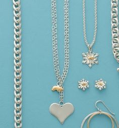Heart and Bear Necklace $225.00