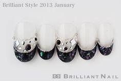 ブリリアントスタイル2013年1月号-お正月の和風ネイル&真冬のあったかネイル特集No.03