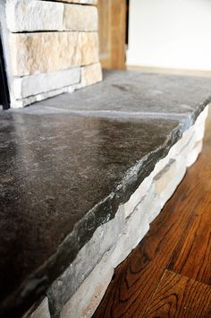Rustic granite countertops