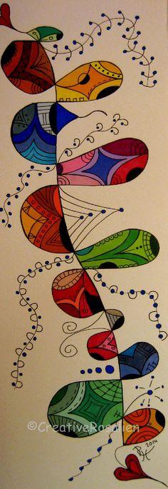 Color bubbles warm and cool colors.