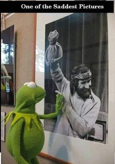Sapo Meme, Sesame Street Muppets, Fraggle Rock, The Muppet Show, Sad Pictures, Kermit The Frog, Sad Stories, Jim Henson, Thing 1