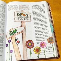 Bible journaling page by KellyJean Gettelfinger using the Doodled Occasions set from Verve. #vervestamps