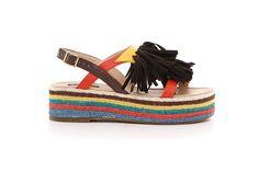 Sandalo Multicolor Blocco 31