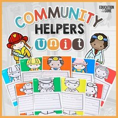 Community Helpers: If you are looking for something to completely engage your…