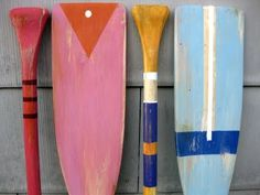 How to paint or where to buy painted oars