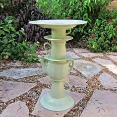 DIY: Tea Pot Bird Bath - Morena's Corner