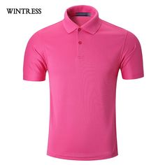 cd67e875d239 comWINTRESS Quick Dry Women Polo Top Four Seasons Short Sleeve Pure Turn  Down Collar Color Polo Shirt Can Custom Logo