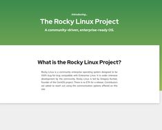 Rocky Linux project alternative to Centos 8 - community based operating system - gnulinux.ro Red Hat Enterprise Linux, Operating System, Alternative, Community, Projects, Log Projects, Blue Prints