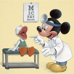 Disney Mickey Mouse and Donald Duck