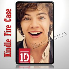 One direction HOT GUYS Harry Styles Kindle Fire Case