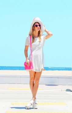 Kara from Neon Cherokee in the Nasty Gal Lydia Dress || Get the dress: http://www.nastygal.com/product/Lydia-Dress-Ivory?utm_source=pinterest&utm_medium=smm&utm_term=ngdib&utm_content=nasty_gals_do_it_better&utm_campaign=pinterest_nastygal