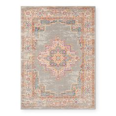 Nourison Passion Grey Area Rug - 8' x 10' - Free Shipping Today - Overstock - 24388818