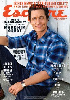 Male Fashion Trends: Matthew McConaughey por Pamela Hanson para Esquire
