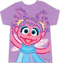 aac19960 Amazon.com: Sesame Street Abby Cadabby Fairy Lilac Purple Toddlers T-Shirt  (Toddler 4T): Movie And Tv Fan T Shirts: Clothing