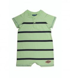 """Short-sleeved babygrow for baby boys, with our fun """"Slick"""" stripe and button detail. Boy Outfits, Fashion Outfits, Boy Clothing, Baby Boys, Kids Shop, Button, Detail, Mens Tops, Fun"""
