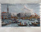 Venezia old print