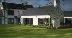 Armagh passive house hides in plain sight - passivehouseplus. Passive House Design, Modern House Design, House Designs Ireland, House Outside Design, Self Build Houses, Armagh, Bungalow Exterior, Ireland Homes, Ventilation System