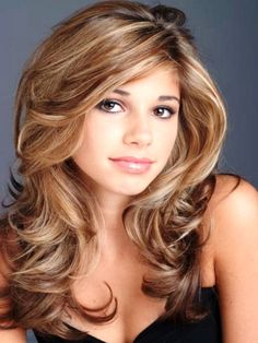 """Dirty blonde hair color falls right between blonde & light brown color. It looks like a darker shade of blondeRead More Must-See Looks For Dirty Blonde Hair"""" Prom Hairstyles For Long Hair, Permed Hairstyles, Cool Hairstyles, Formal Hairstyles, Long Haircuts, Brunette Hairstyles, Hairstyles Pictures, Wedding Hairstyles, Hairstyles For Medium Length Hair Tutorial"""