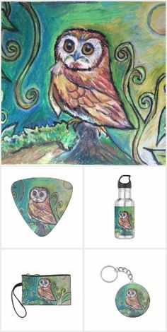 Whimsical Owl Collection