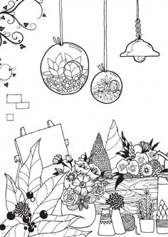 Find This Pin And More On Coloring Garden By Barbara