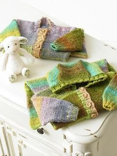 Jenny Watson - Mini Knits 3: Book by Noro | Knitting Fever. Ok, I must find babies to knit for!