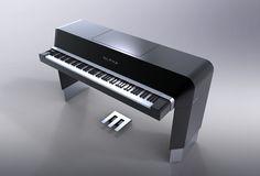 Alpha Piano for Weinberger - Design by Porsche Design Studio