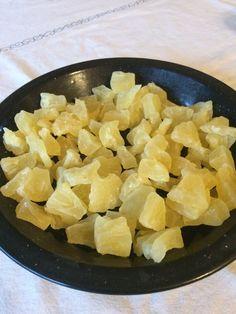 Pineapple Chunks Dehydrated