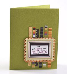 Frame Your Halloween Card Sentiment