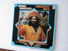 Vintage Demis Roussos LP by KackleberryFarm on Etsy