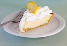 Lemon Ice Box Pie - One of the best desserts on the El Fenix menu!