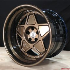Vivid Racing News » So Vintage – HRE Wheels 505 in Full Bronze Armor