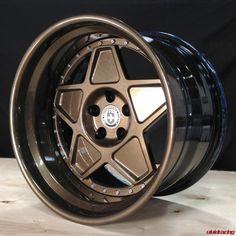 So Vintage - HRE Wheels 505 in Full Bronze Armor