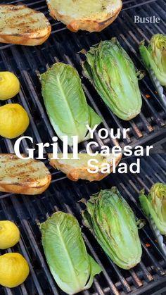 Grilling Recipes, Veggie Recipes, Salad Recipes, Vegetarian Recipes, Dessert Recipes, Cooking Recipes, Healthy Recipes, Desserts, Caesar Salad