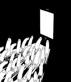 Mrzyk et Moriceau – Des illustrations minimalistes et très décalées (image)
