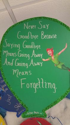 Peter Pan quote Peter Pan Quotes, Child Development, Cheerleading, Art Projects, Students, Workout, Sayings, Children, Disney