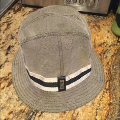 Authentic Unisex Gucci Bucket Hat 100 authentic Gucci bucket hat. Has been stored in my closet. Requires dry cleaning. No trades and fairly priced  Gucci Accessories Hats