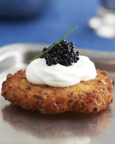Sweet Paul's Thanksgivukkah Day 3: Fancy Latkes with Caviar Recipe via Jamie Geller of The Joy of Kosher