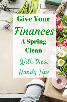 It finally feels like spring is in the air and while you may be thinking about sprucing up your house with a spring clean, it may also be worth thinking about giving your finances a going over too