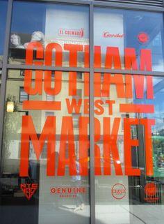 Gotham West Market, Hell's Kitchen, NYC