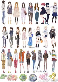 56 Best Ideas For Fashion Clothes Illustration Art headphone ilustration Arte Fashion, Fashion Mode, Girl Fashion, Fashion Design, Trendy Fashion, Anime Outfits, Cool Outfits, Girls Fashion Clothes, Fashion Outfits