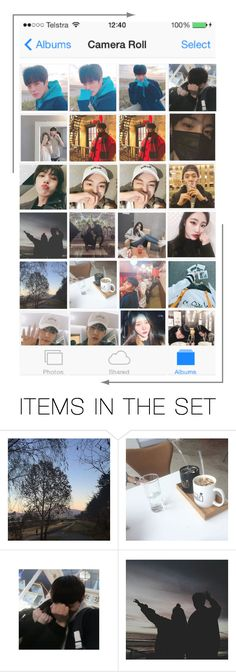 """""""camera roll tag (sorry it's late)"""" by official-romeo ❤ liked on Polyvore featuring art"""